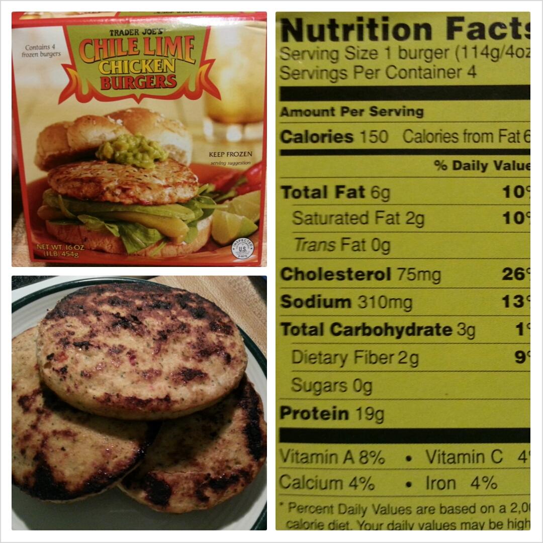 recipe: weight watchers chicken burgers nutrition [3]