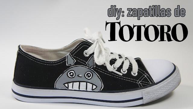 zapatillas de totoro