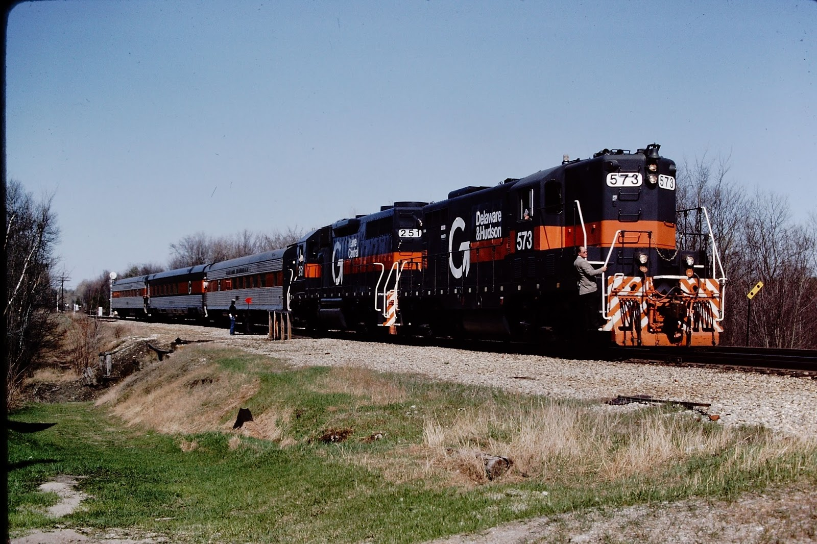 Guilford train in 5/1984