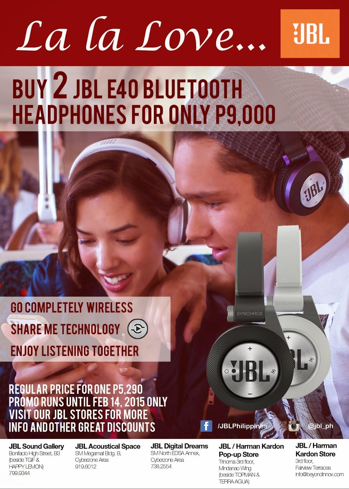 JBL E40BT Promo