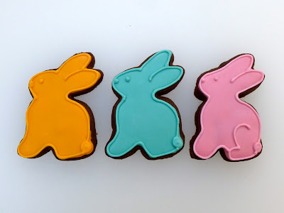 Easter Bunny Cookies by Nina's Show & Tell