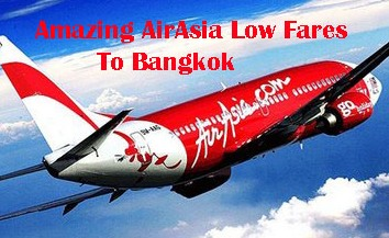 air asia cheap flights to bangkok