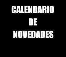 CALENDARIO DE NOVEDADES 2016