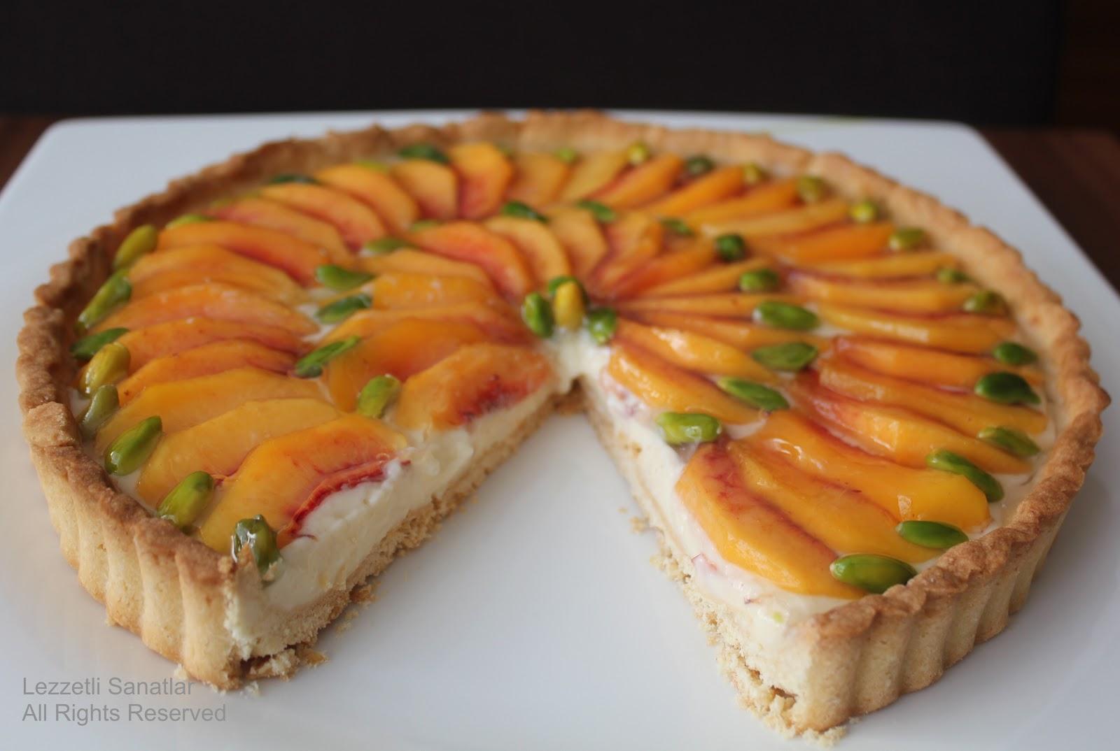 Şeftalili Trifle