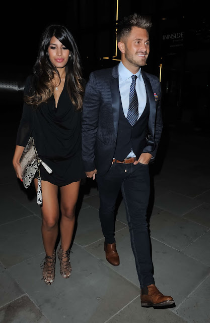 Actress Jasmin Walia Night out at the INNSIDE Hotel in Manchester