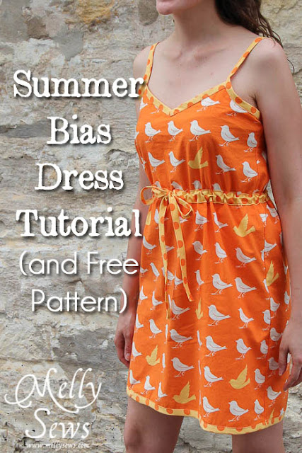 bias sundress tutorial