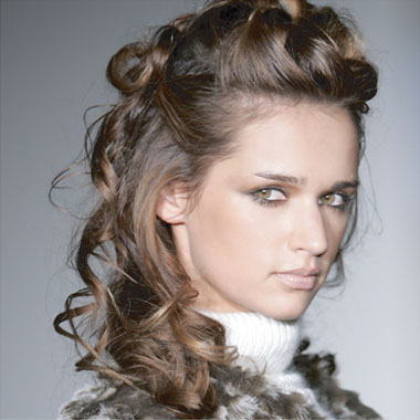 Special occasions for medium hairstyles