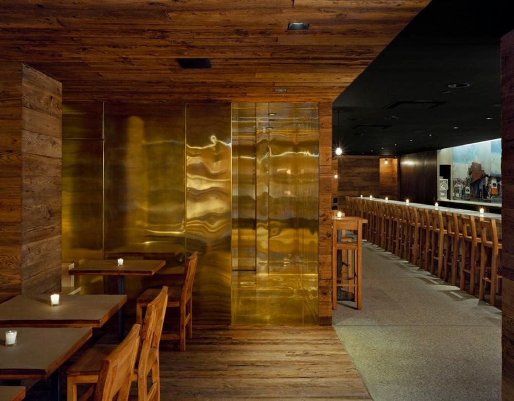 Restaurante pio pio en nueva york espacios en madera for Restaurante madera