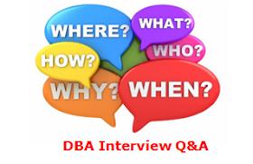 DBA Interview Q&A