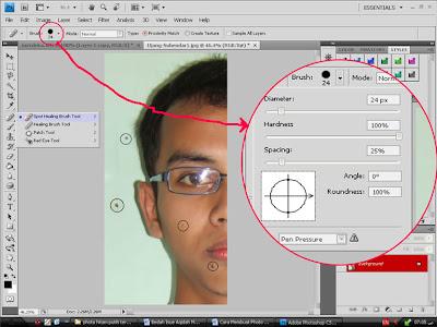 Cara Mudah menghilangkan Jerawat Dengan Photoshop
