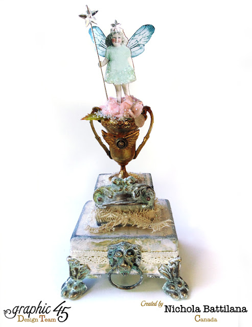 Altered Trophy with G45 Staples - Nichola Battilana