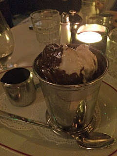 Pudding in Jackson & Rye, Soho
