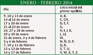 Calendario inscripcion Primaria Secundaria: