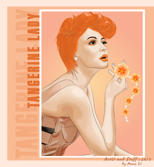 "Art Li and Stuff - ""Tangerine Lady"" - Anna Li on DeviantArt"