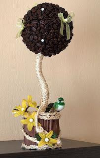 Поделки декоративных деревьев своими руками