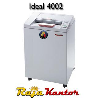 Mesin Penghancur Kertas Ideal 4002