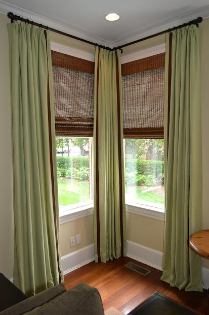 Corner Window Curtain Treatments