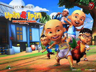 Wallpaper upin ipin
