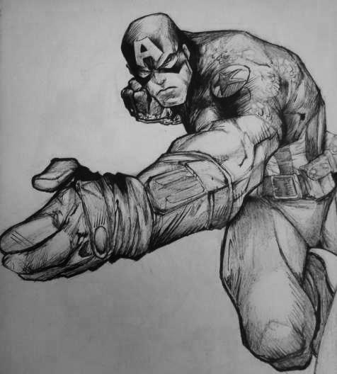 Captain America por AlfredoP