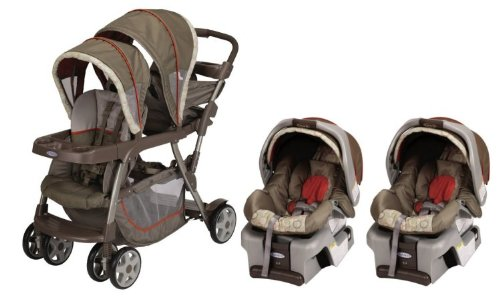 graco double stroller and carseat combo. Black Bedroom Furniture Sets. Home Design Ideas