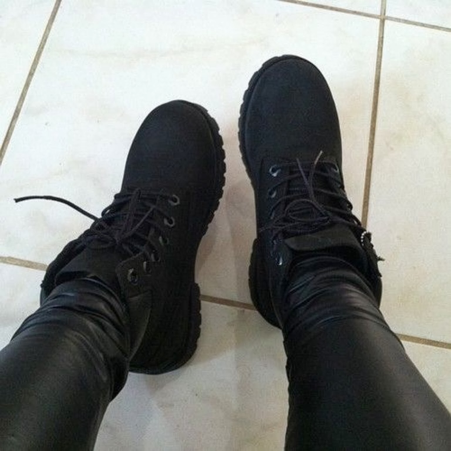 Tims Shoes Black