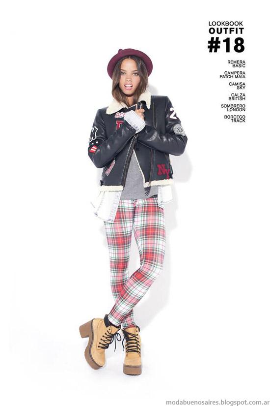Calzas de moda invierno 2014 47 Street colección otoño invierno 2014.