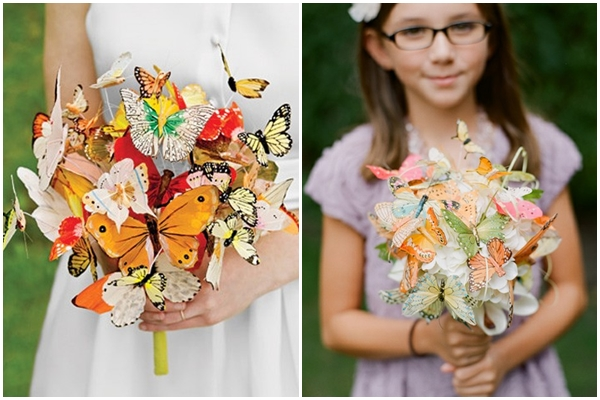 L R 1 Paper Butterfly Bouquet 2