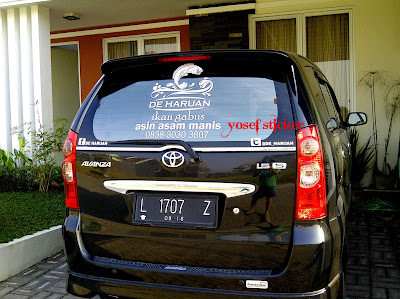 cutting sticker avanza DEHARUAN bro ONY