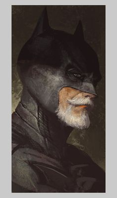 The Bearded Batman!