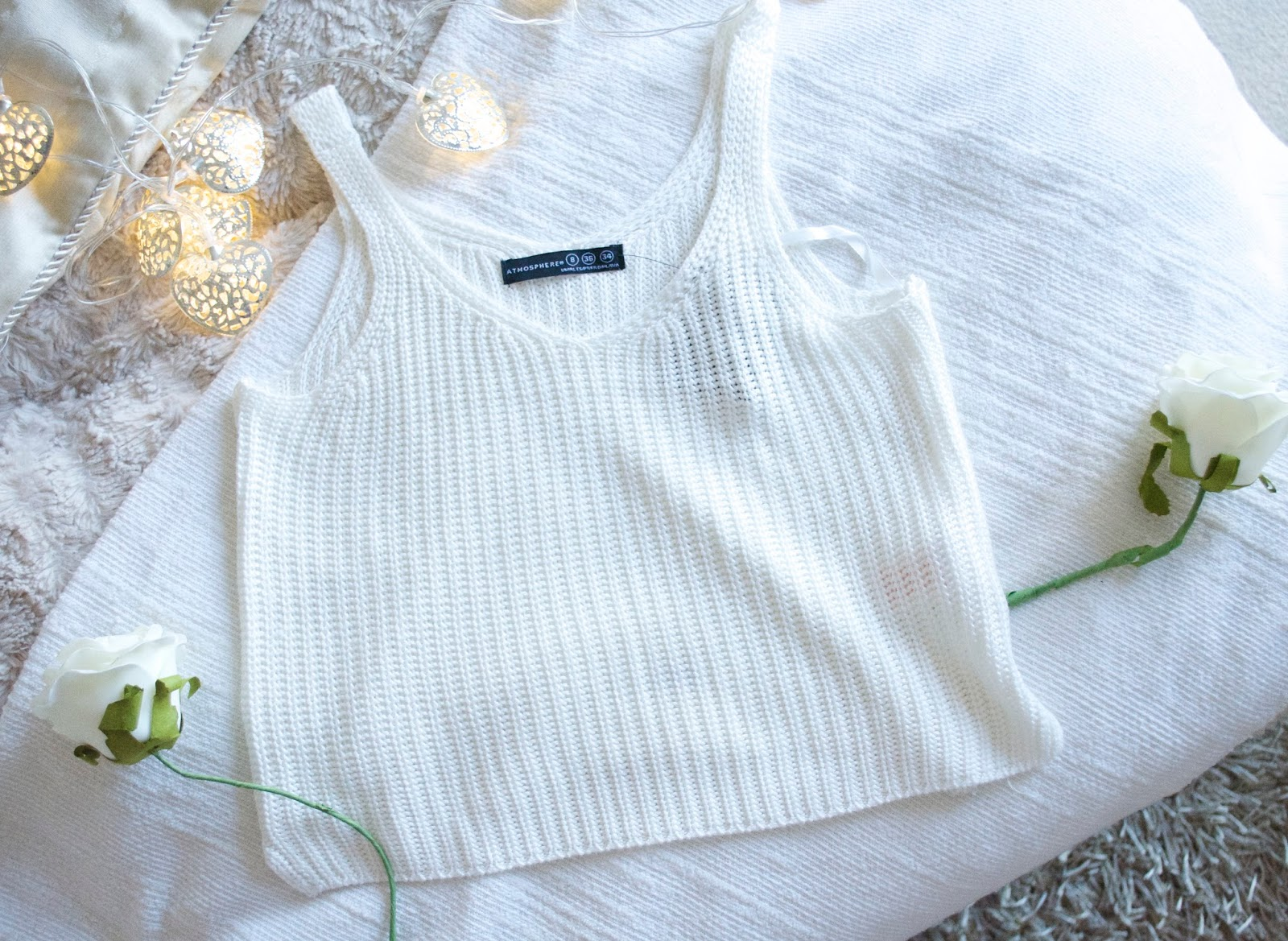 Primark Haul, Primark Knitted Crop Top, Zoella Crop Top, White Crop Top