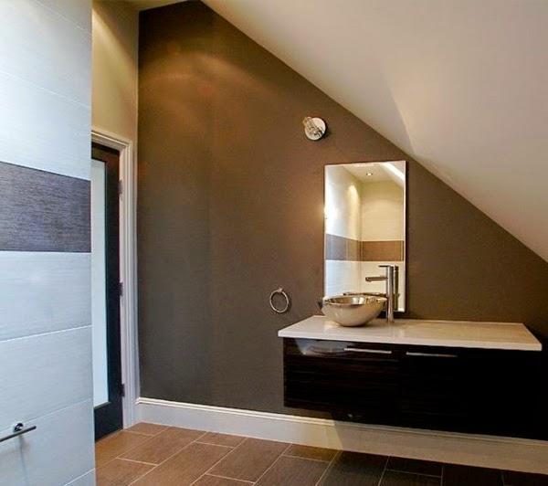 Conseils d co et relooking des pentes et de beaux dessins pour votre salle d - Salle de bain beige et marron ...