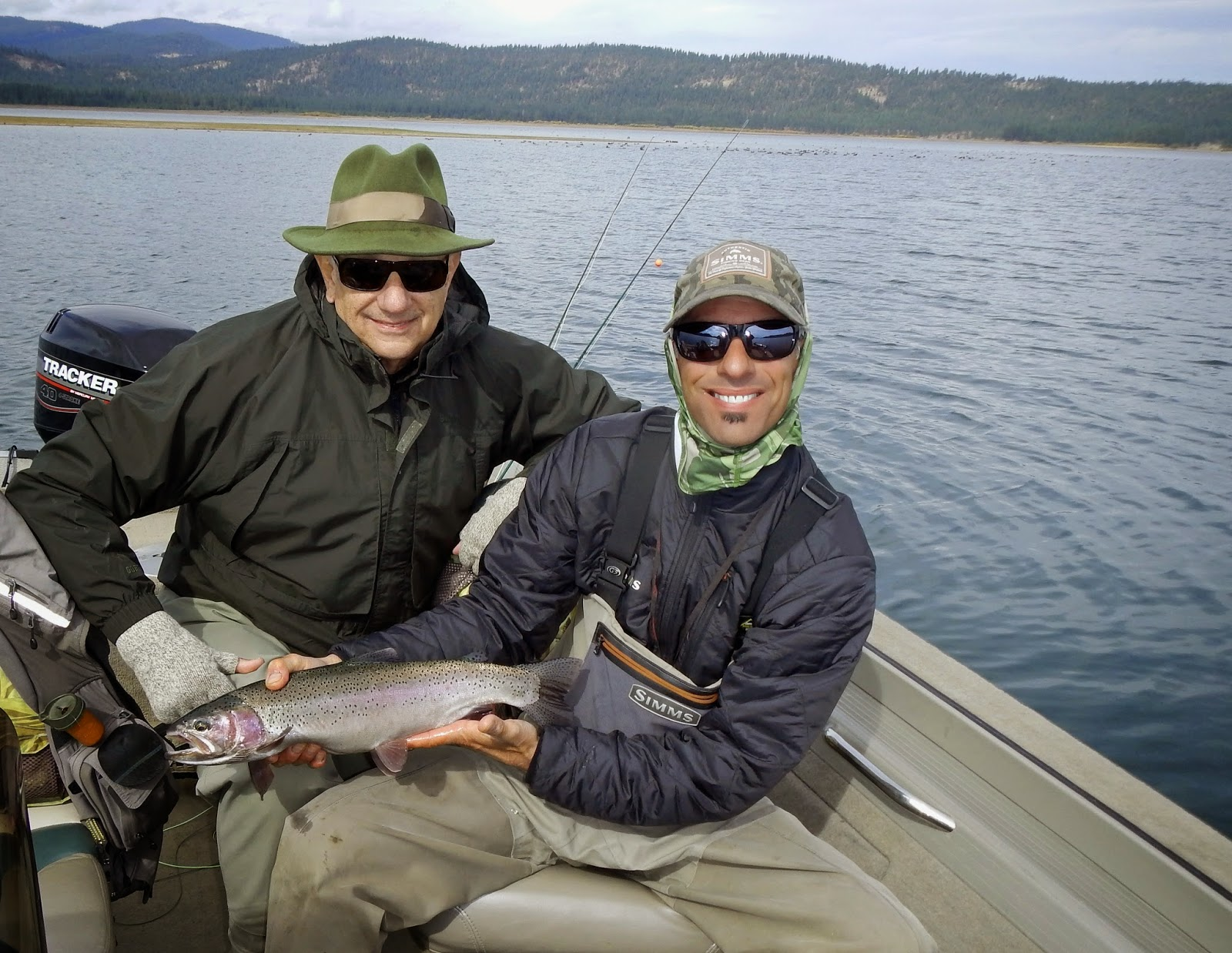 Jon baiocchi fly fishing news lake davis fishing report for Lake fishing games