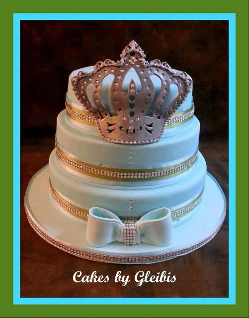 Cakes By Gleibis Baby Shower Cake My Little Prince