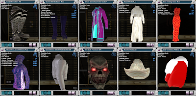 Entropia Universe - Clothings