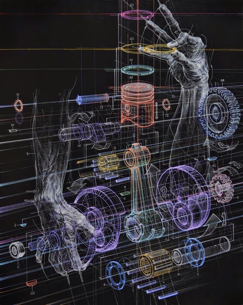 Engines art