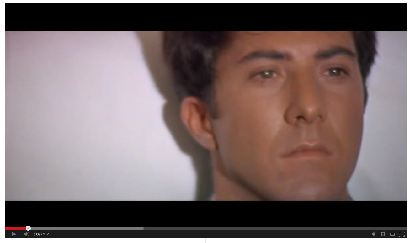 review of the graduate Mike nichols on the graduate i think it was the story of a not particularly bright, not particularly remarkable but worthy kid drowning among objects and things.