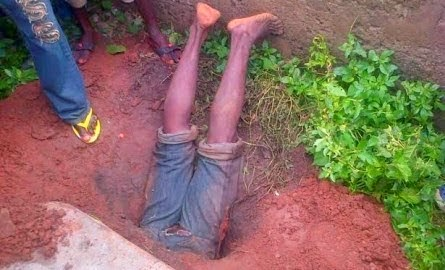 ritualist killed grave osun state