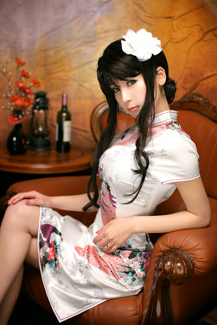 Foto Pakaian Tradisional China (Cheongsam)