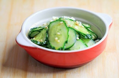 Cách làm salad dưa chuột chua giòn - Nộm dưa chuột 2