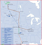 Proposed TransCanada's Keystone XL Pipeline