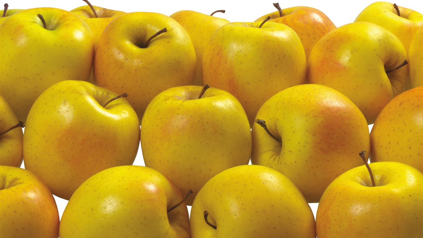 wallpapernarium: Ricas manzanas de color amarillo