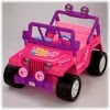 Power Wheels Barbie Jammin Jeep by Fisher-Price, Jillyn's favorite toy from Santa Claus