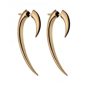 18ct Gold Vermeil Hook Earrings Shaun Leane
