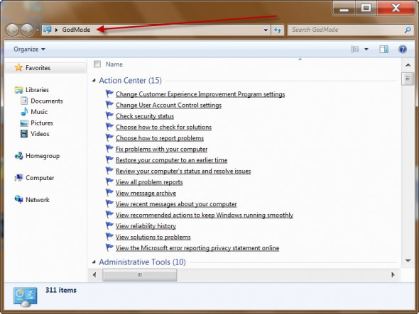 How Can God Mode in Windows Seven By Saftain Azmat