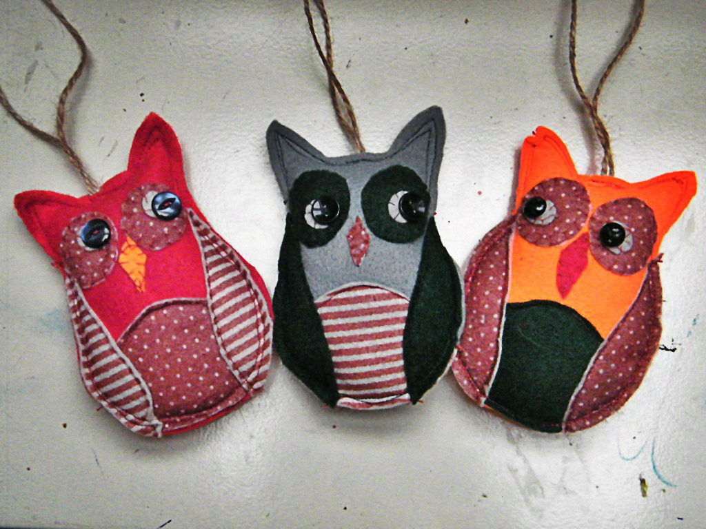 Irmalu DIY Funny Owl Buddies For Your Christmas Decorations