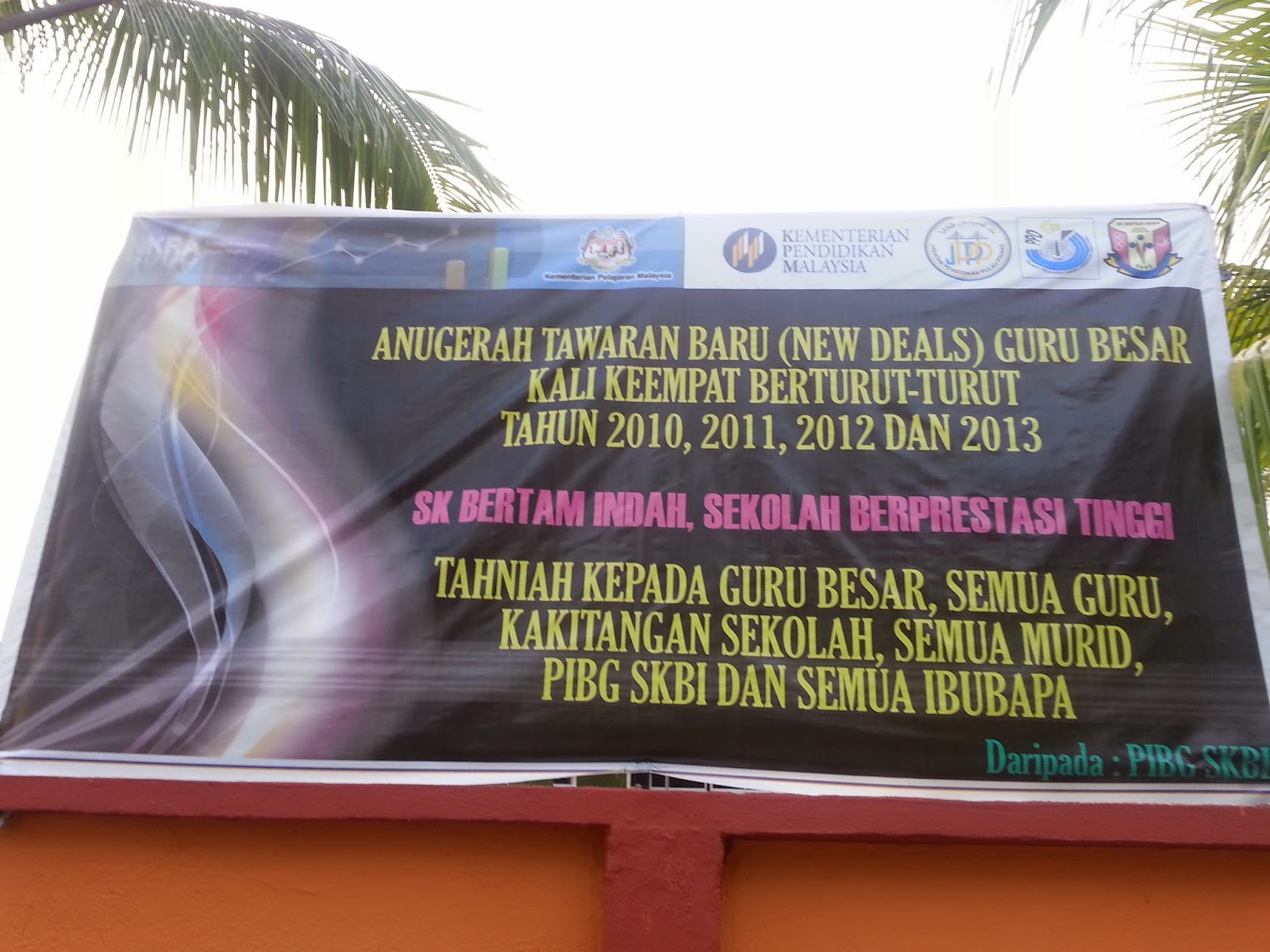 Contoh Sekolah Berprestasi Tinggi SK Bertam Indah Kepala Batas Pulau Pinang