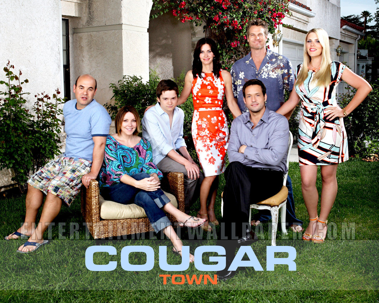 Capa do cougar town 2 seriados