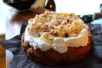 Bílkový koláč