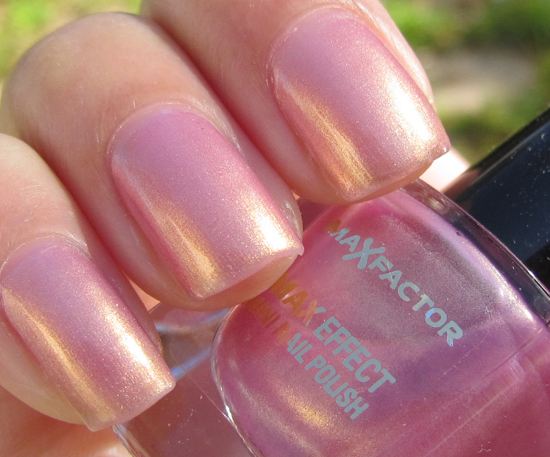 Beauty With The Beautifool Max Factor Mini Nail Polish In Sunny Pink Review Swatches