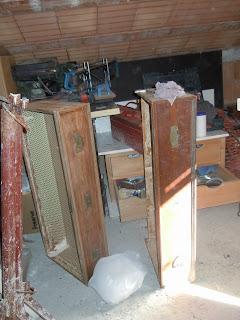 cassettiera prima del restauro